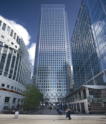 One Canada Square London Uk
